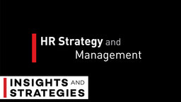 HR Strategy and Management Series