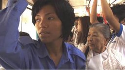 The Bus Conductor - A Female Bus Driver in Yangon